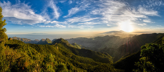 Mountains and forests of Tenerife