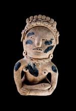 Pre Columbian Warrior Figure.