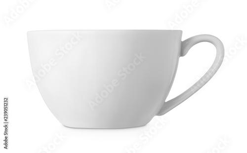 Obraz na płótnie simple white cup