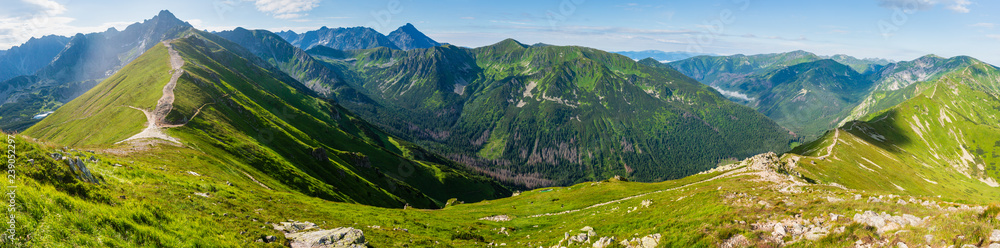 Fototapety, obrazy: Summer Tatra Mountain, Poland
