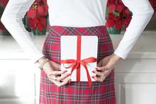 Christmas Photograph Of A Woma...
