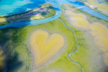 Heart Of Voh, Aerial View, For...