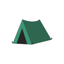 Tent Color Icon