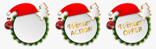 Christmas Action Offers Vector...