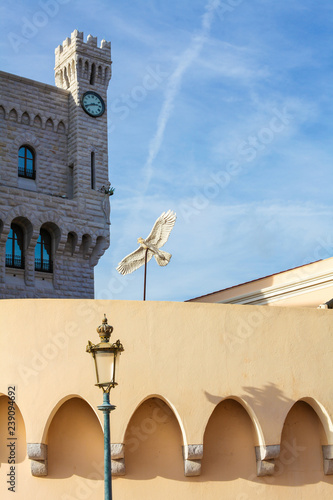 Prince's Palace of Monaco in Monaco-Ville