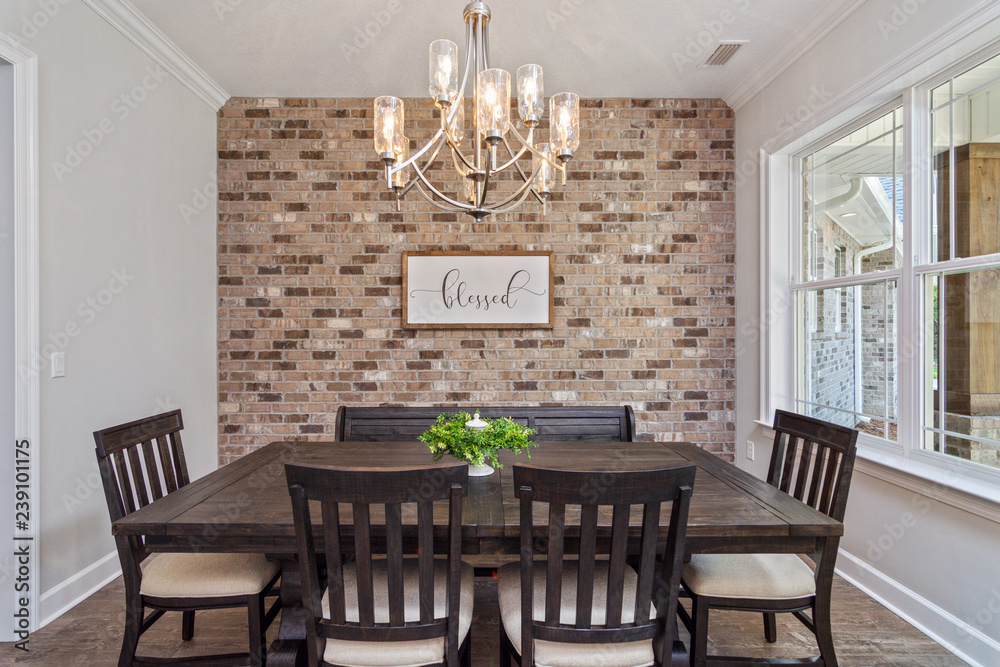 Dining Room Minimal Wall Mural, Dining Room Murals Pictures