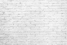 White Brick Wall Vintage Textu...