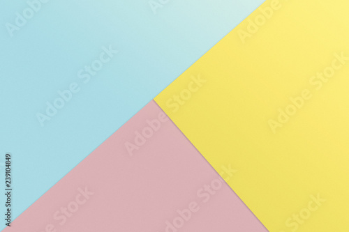 Fotografie, Obraz  abstract pastel colourful minimalism for background