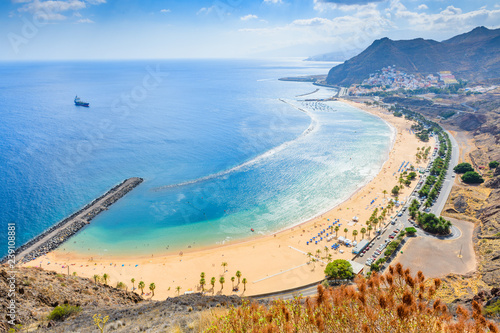 Wonderful view from Mirador Las Teresitas. Tenerife. Canary Islands..Spain