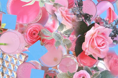 Pink Valentine's Day Florals