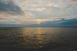 Amazing summer sunset view on the beach, Pattaya,Thailand