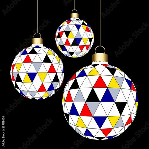 Photo  Christmas' balls