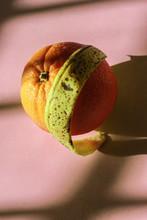 Freckled Banana Peel And Orange Snuggle Shadows