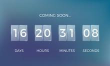 Countdown Clock. Coming Soon T...