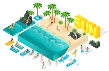 Isometric Cartoon Vector Peopl...