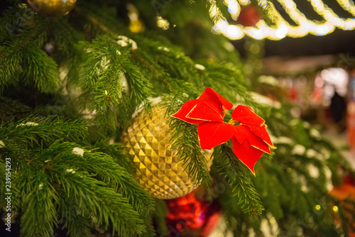 Garden Poster Roe Christmas Tree Decoration
