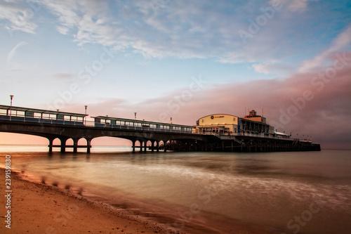 Stampa su Tela Bournemouth Pier at dawn