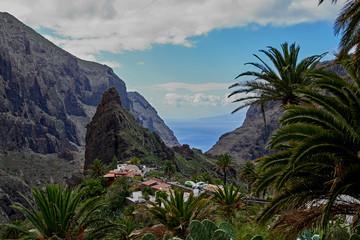 Fototapeta na wymiar Anaga Mountains in Tenerife