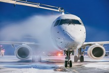 Deicing Of Airplane