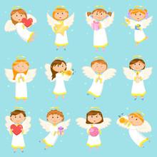 Angel Children, Boys And Girls...