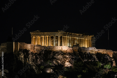 Photographie  Acropolis night view