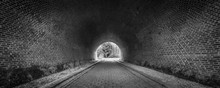 Tunnel Black And White