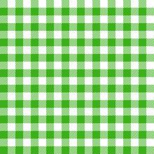 Green Tablecloth Pattern Fiber Green Diagonal Lines