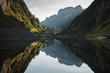 Bergsee in den Schweizer Alpen