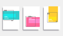 Abstract Cover Template Design...