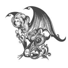 Succubus Demon Illustration
