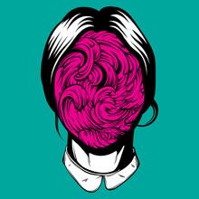 Vector Illustration Of Weird Y...