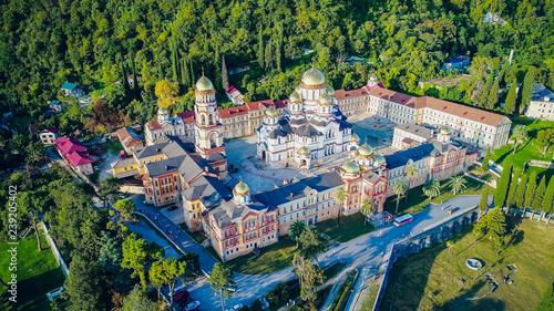 New Athos,Abkhazia Monastery of St Canvas Print
