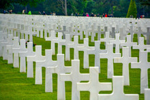US Cemetery In Normandy