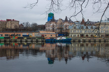 Old Town. Gulf Of Finland. Vyborg