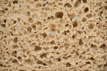 Texture Of Dark Rye Bread