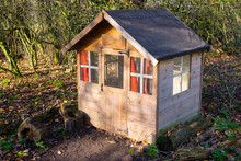 Wooden Garden Shed Outdoor Children Playhouse
