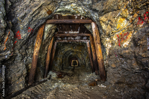 Fotografia, Obraz  Old gold mine