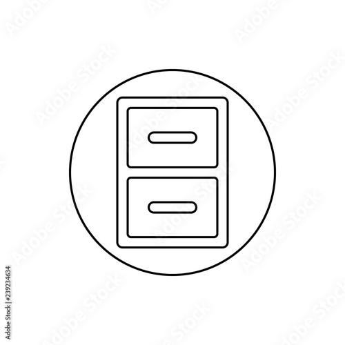 Fotografía  regiment in a circle icon