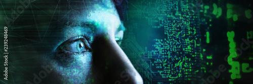 Cuadros en Lienzo Technologie - Künstliche Intelligenz