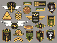 Army Badges. Military Patch, A...