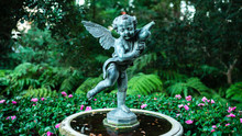 Bronze Statue Of A Winged Ange...