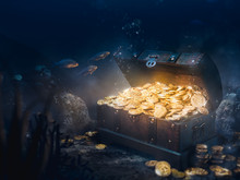 Sunken Treasure At The Bottom ...