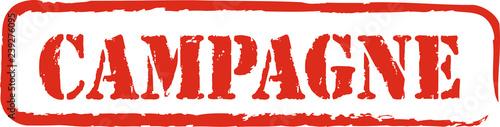 Fotografie, Obraz  tampon campagne