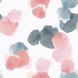Abstrakcjonistyczny bezszwowy wzór z kolorowymi akwarela kształtami robić w wektorze - 239277642
