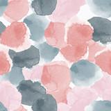 Abstrakcjonistyczny bezszwowy wzór z kolorowymi akwarela kształtami robić w wektorze - 239277813
