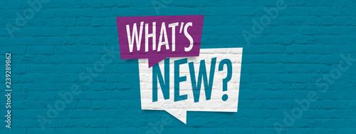 Fotografie, Obraz What's new?