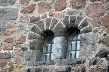 Stonework Windows Of A Medieva...
