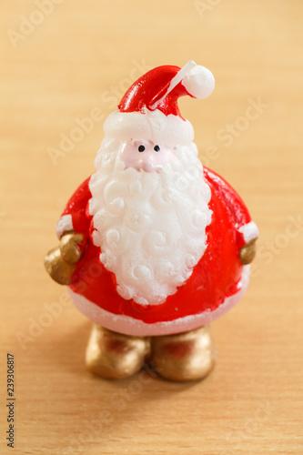 Fotografie, Obraz  Figurine de Père Noël
