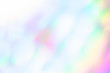 canvas print picture - blurred Abstract background Rainbow colors .