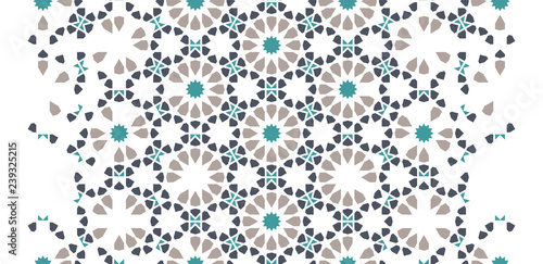 Photo Tile seamless vector pattern